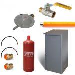 Комплект для подключения одного газового баллона (Старт)