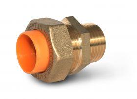 Муфта 15 мм (1/2 дюйма) для опрессовки трубы (папа)