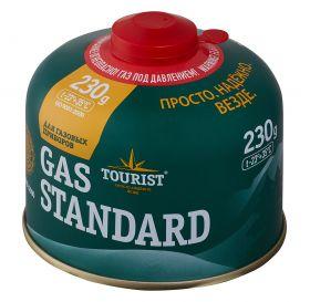Одноразовый газовый баллон GAS STANDARD, 230 гр. TBR-230