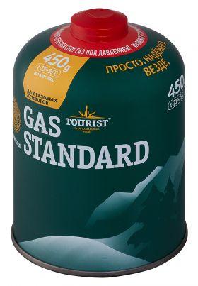 Одноразовый газовый баллон GAS STANDARD, 450 гр. TBR-450